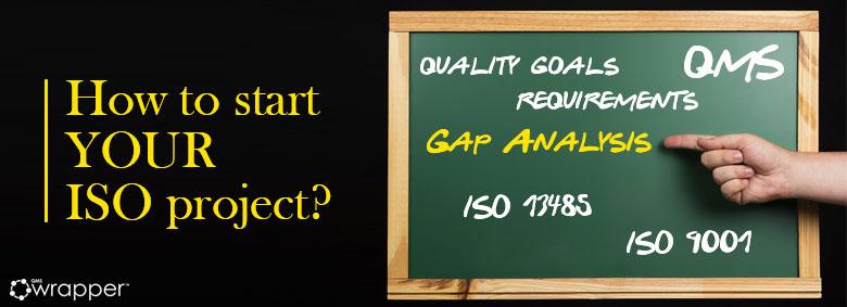 Gap analysis in QMS