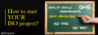Gap analysis in QMS