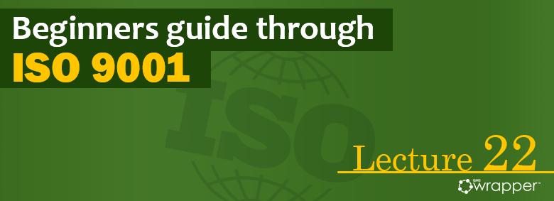 Internal audit – Lecture 22