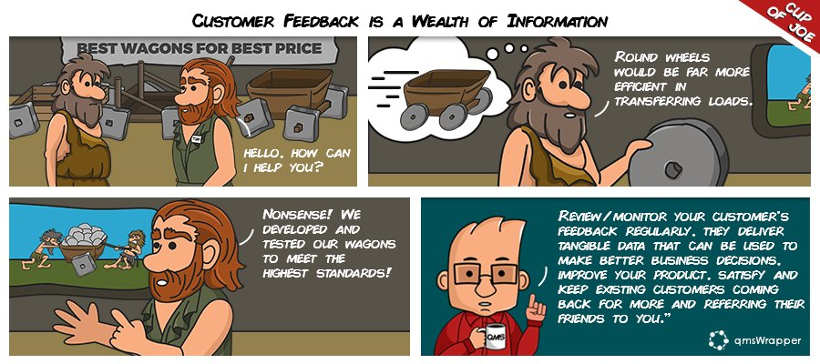 Customer Feedback is a Wealth of Information