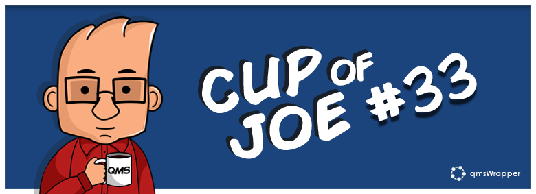 Cup of Joe 33# - Revision History helps you with transferring to eQMS