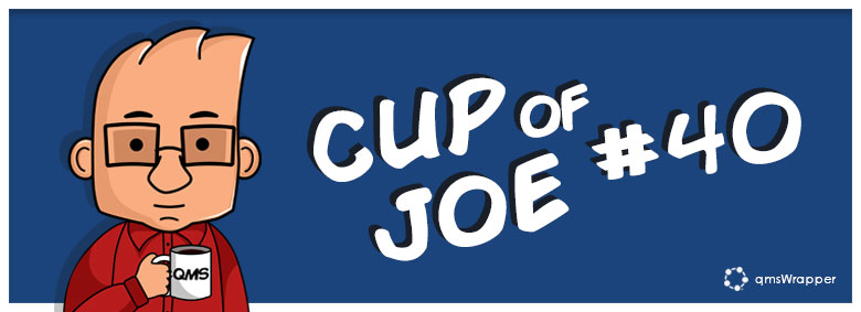 Cup of Joe 40# - Documents and procedures amendment