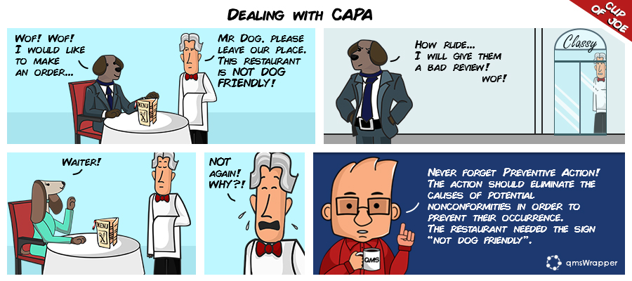 Cup of Joe: dealing with CAPA